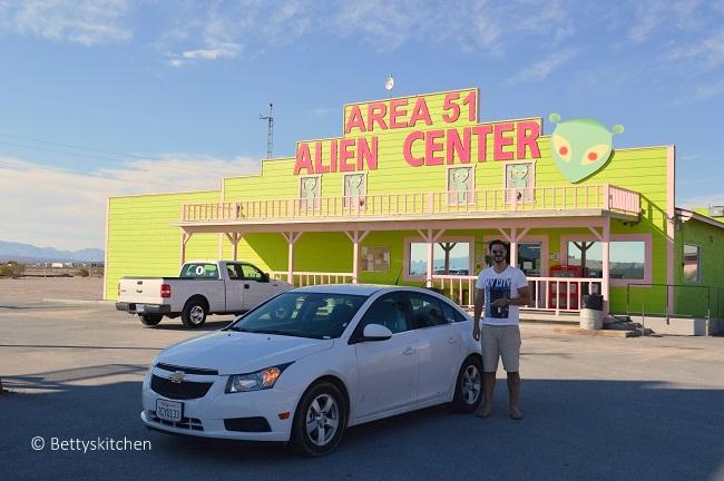 Reisblog West USA – dag 11: Death Valley, Area 51, Mammoth Lakes