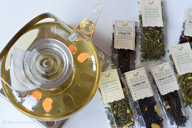 WIN: een herfstmelange theepakket van Maya Tea