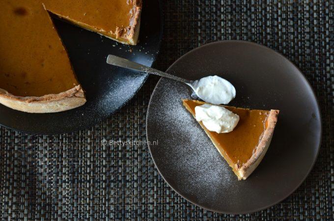 Pumpkin Pie (zoete pompoentaart)