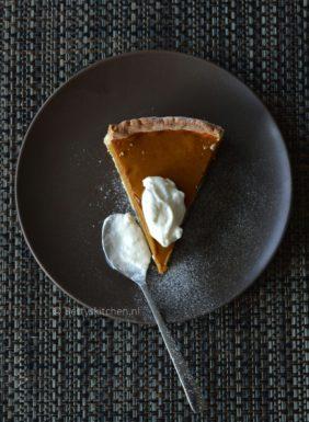 pumpkin pie zoete pompoentaart recept