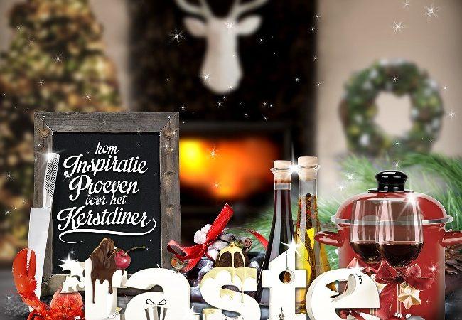 WIN: 2x toegangskaarten voor Taste of Christmas
