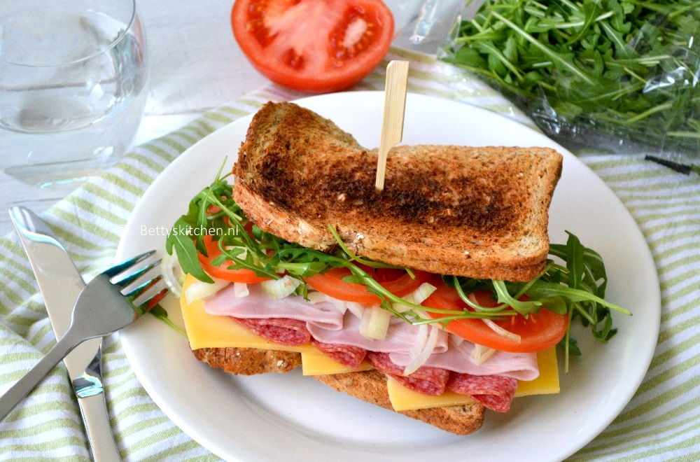 Italiaanse Meat-lovers Sandwich