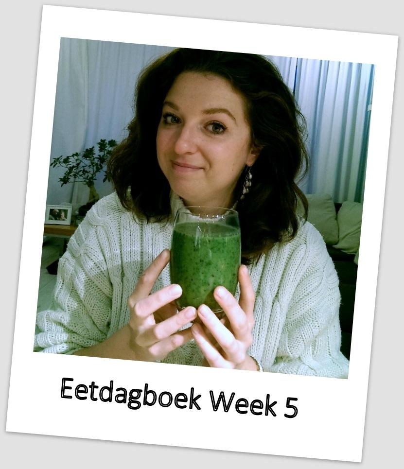 Eetdagboek van Betty – week 5