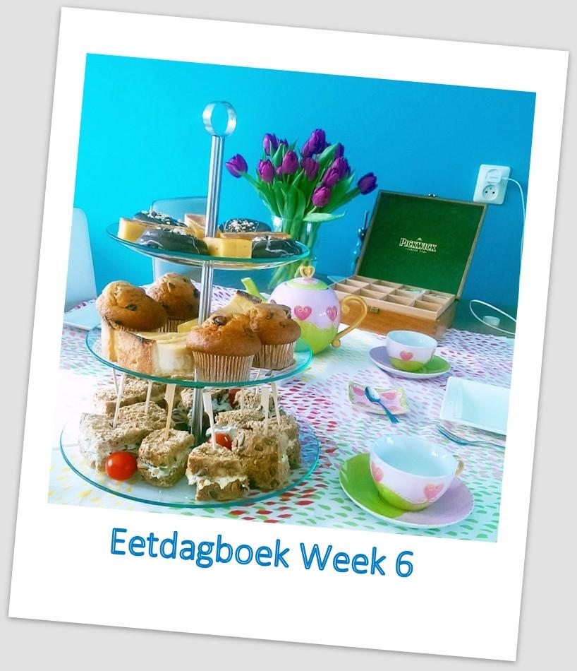 Eetdagboek van Betty – week 6