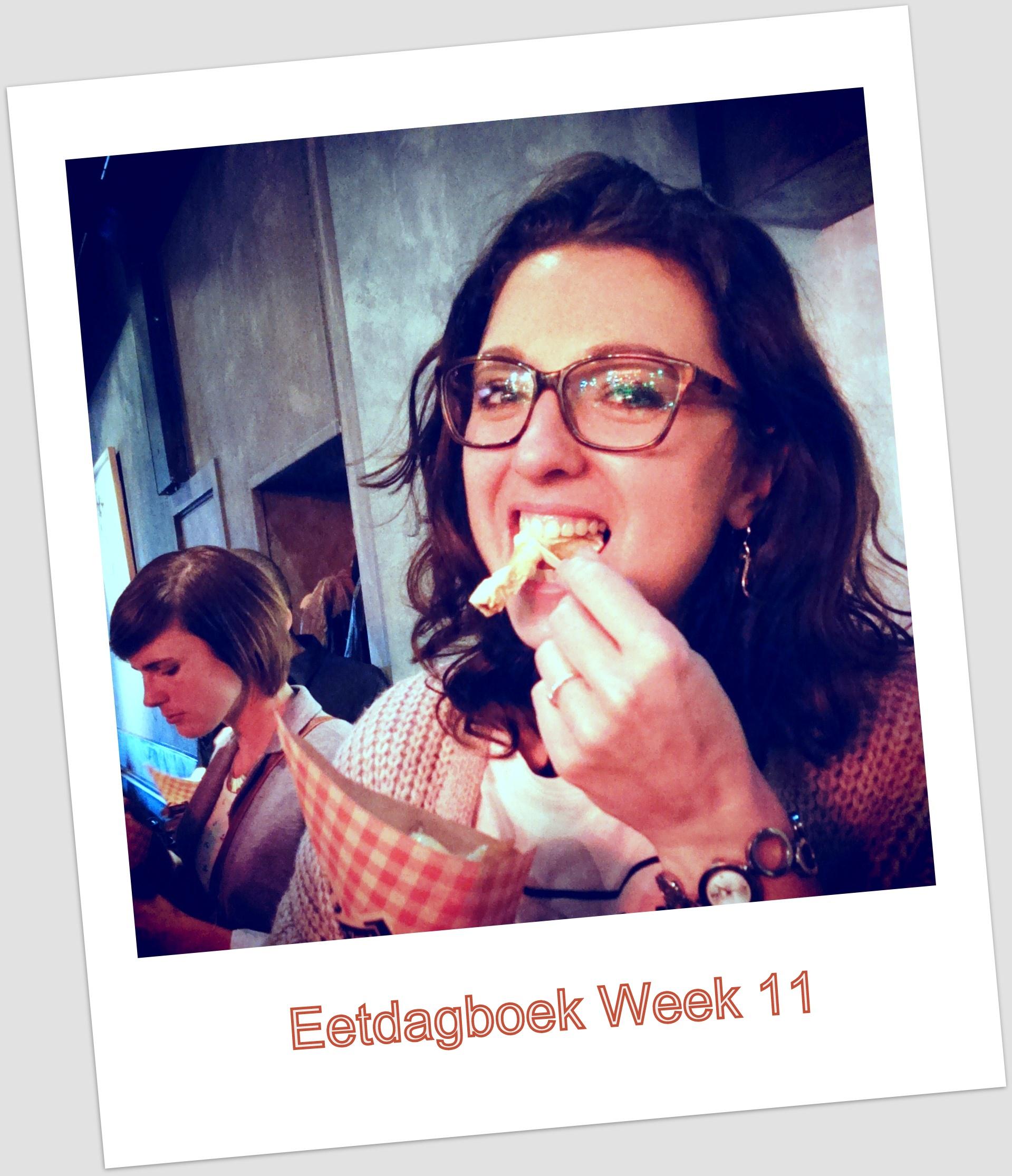 Eetdagboek van Betty – week 11