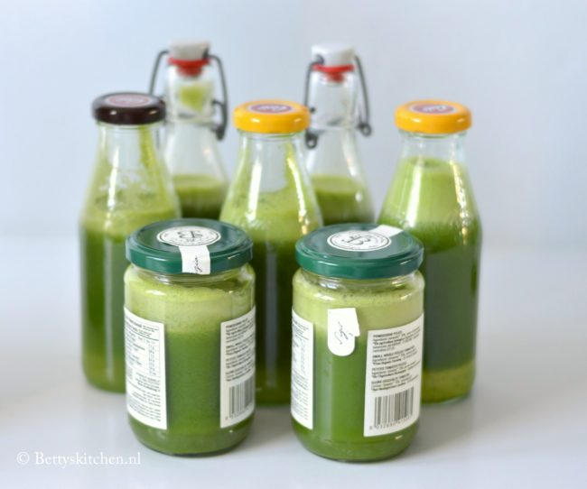 Groene Detox Juice (met spinazie en komkommer)