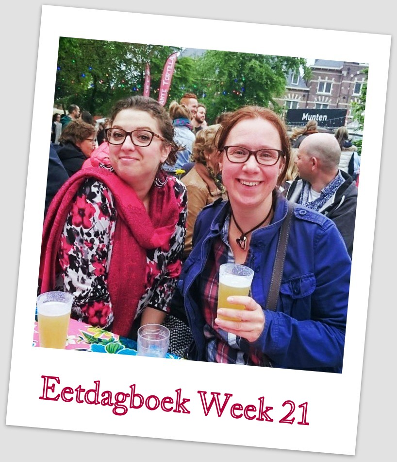Eetdagboek Week 21 (#bikinibodychallenge2015)