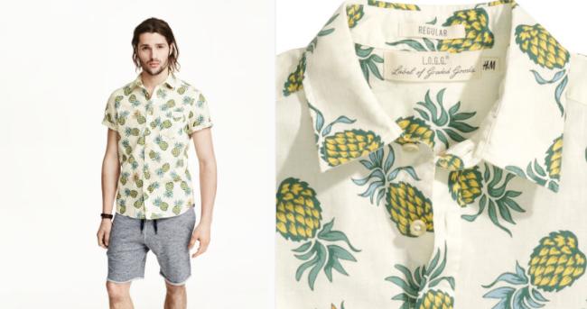 zomer_kleding_met_fruit_print_trend_pinapple_blouse_HenM