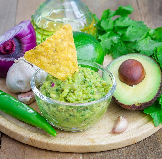 recept guacamole zelf maken