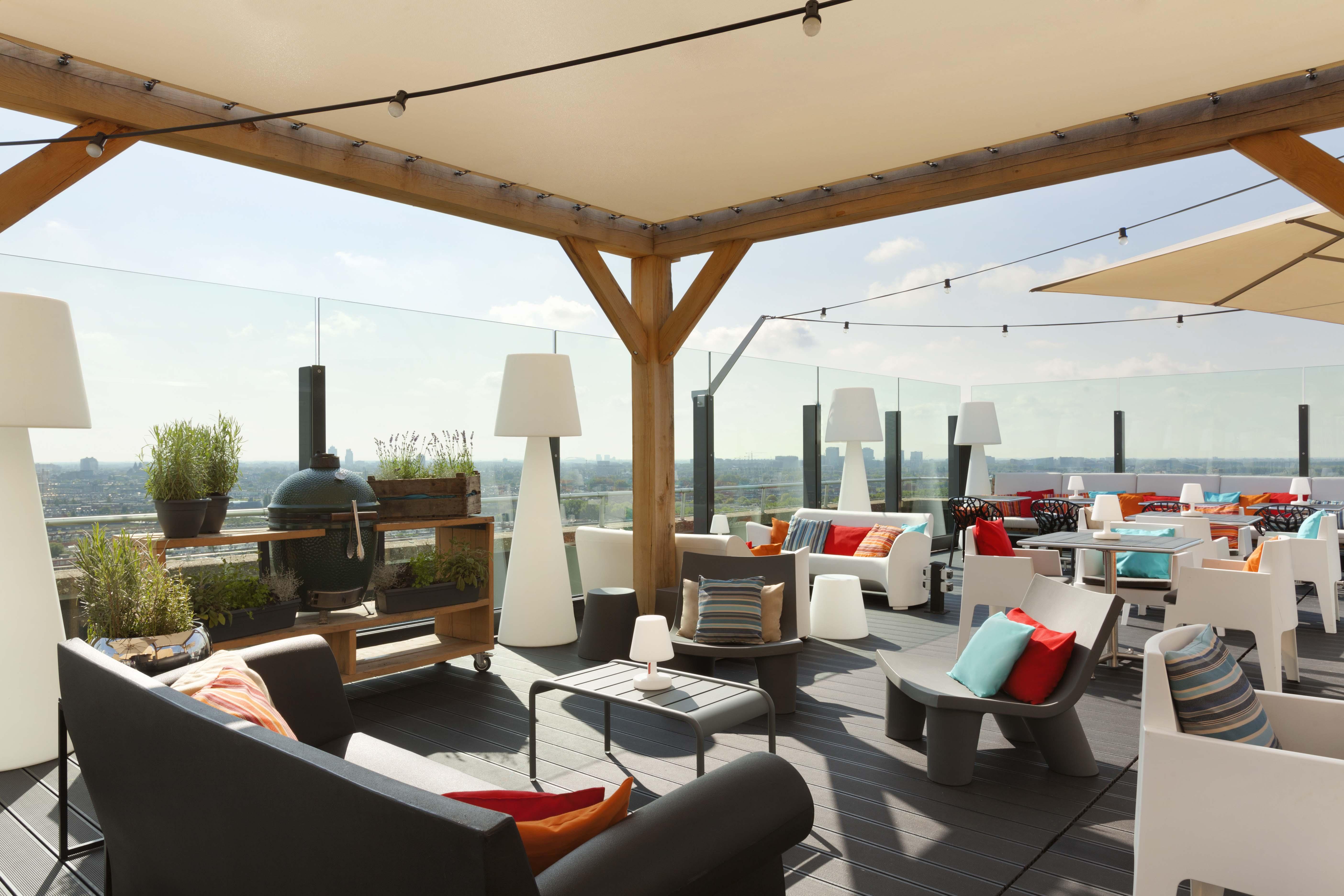 Floor17 in amsterdam restaurant review betty 39 s kitchen foodblog - Dakterras restaurant ...
