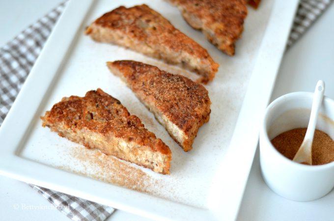 Friese wentelteefjes met suikerbrood
