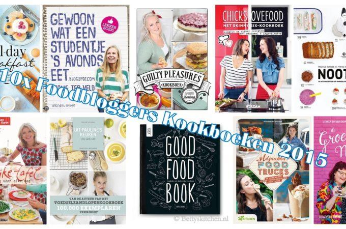 10x Foodbloggers kookboeken voor Kerst 2015