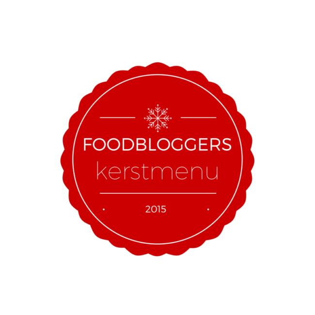 Logo Foodbloggers Kerstmenu 2015 Rood