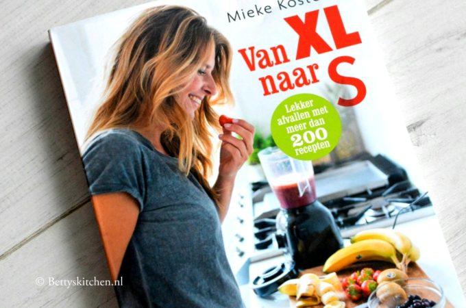 Van XL naar S – kookboek (Mieke Kosters)