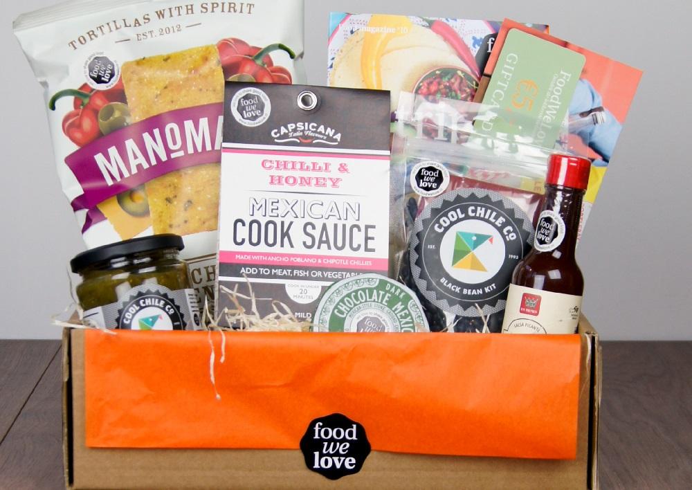 FoodWeLove 'Trip to Mexico' box WINACTIE