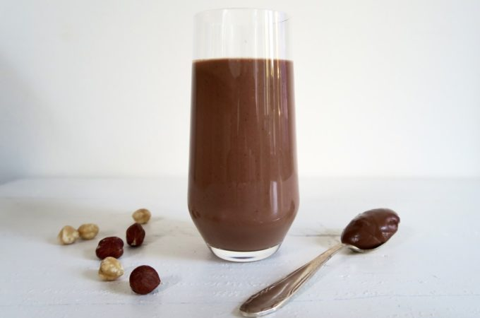 Gezonde Nutella Smoothie