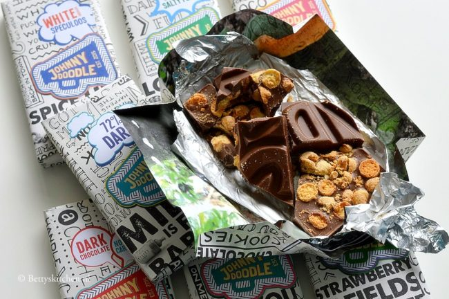 johnny doodle chocolade pakket winactie bettyskitchen 3 jaar