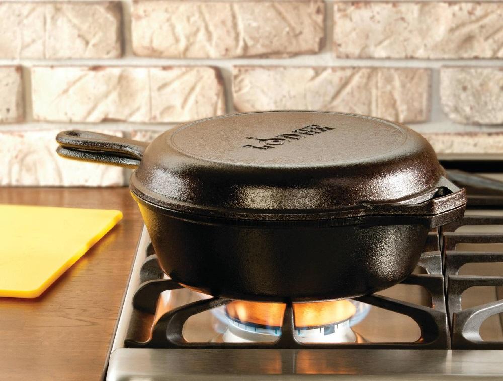 Lodge Combo Cooker pan + WINACTIE