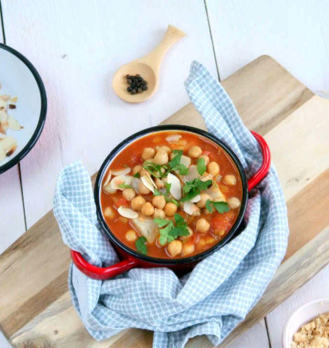 marokkaanse stoofschotel met vis