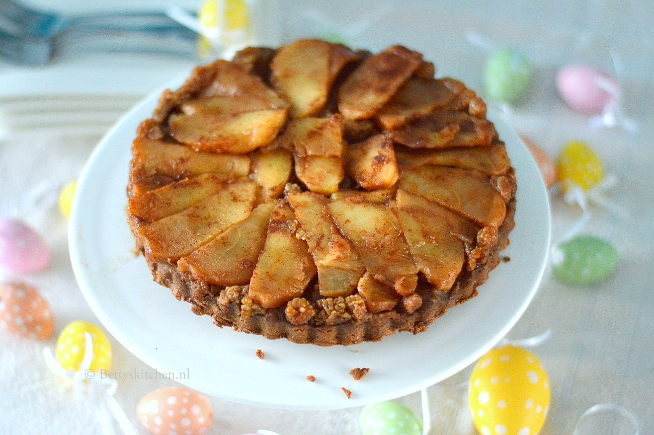 Glutenvrije Tarte Tatin met appel