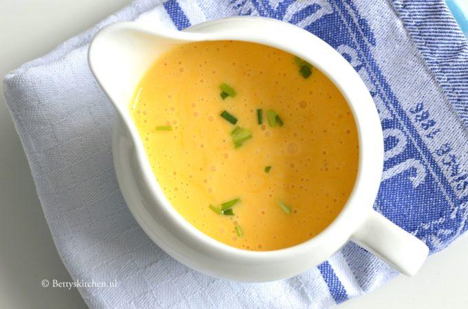 Hollandaise saus (voor bij de asperges)