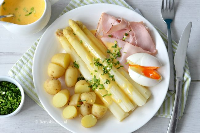 10x Recepten met Asperges - witte asperges recept - groene asperges - bettys kitchen