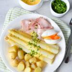 recept klassieke asperges met ham en ei © Bettyskitchen.nl