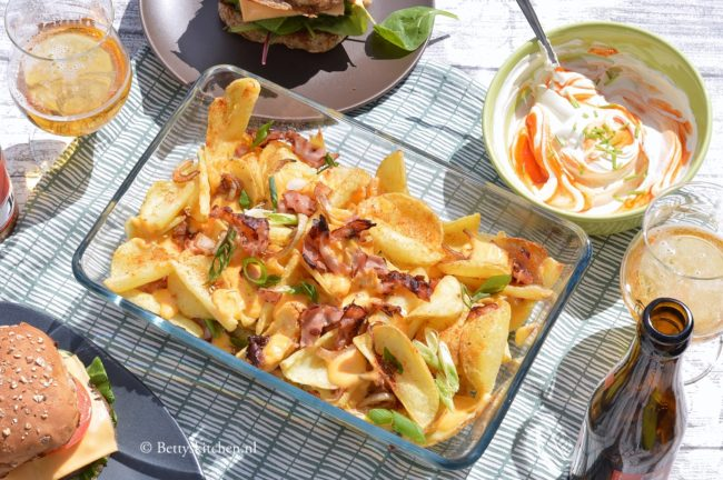 Potato Dipperz met kaas en bacon uit de oven