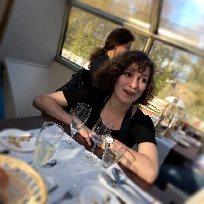 Panorama Rail Restaurant in Amsterdam