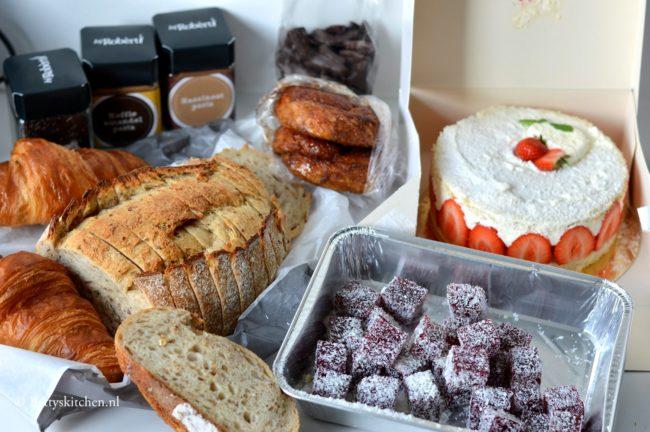 Slagroomtaart met aardbeien bij Robèrt van Beckhoven