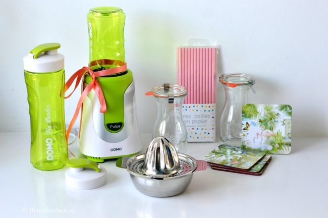 WIN: een smoothie pakket inclusief DOMO MyBlender bij Betty's Kitchen