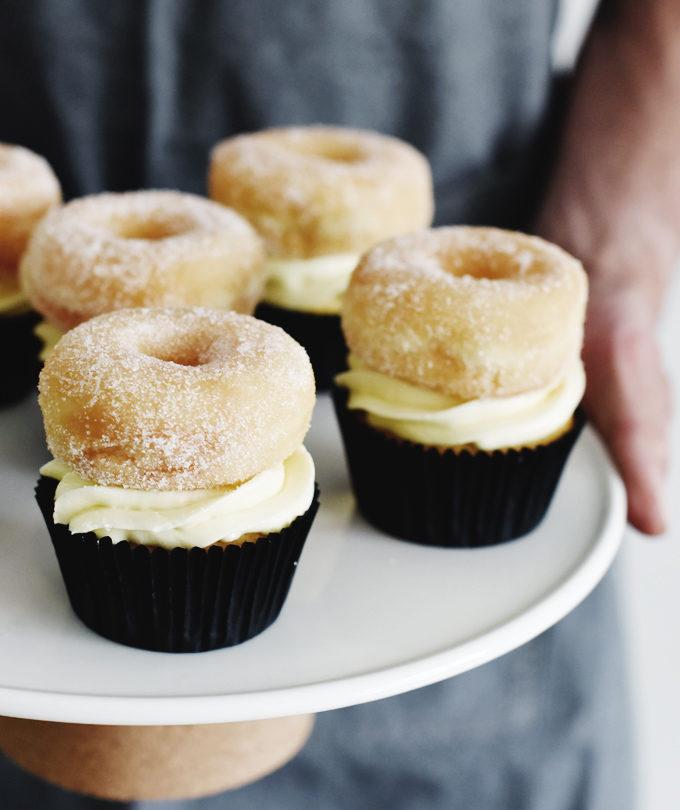 donut cupcakes met vanille door 88food.nl gastblog betty's kitchen