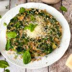 recept italiaanse omelet met spinazie en kaas © bettyskitchen.nl