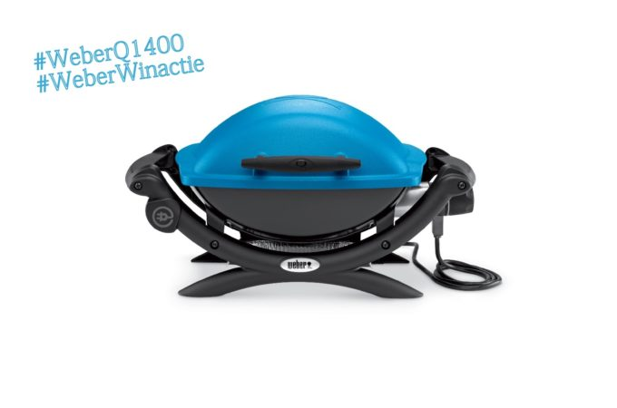 Weber Q1400 barbecue + Winactie