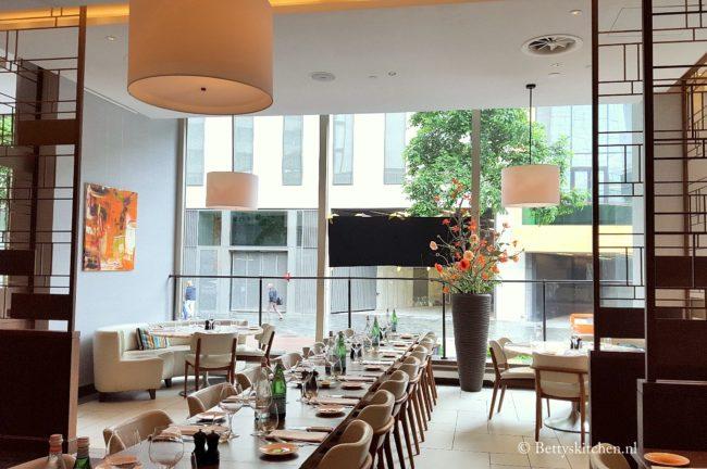 vers van de pers zomer 2016 Roots Restaurant in Hilton Hotel Rotterdam