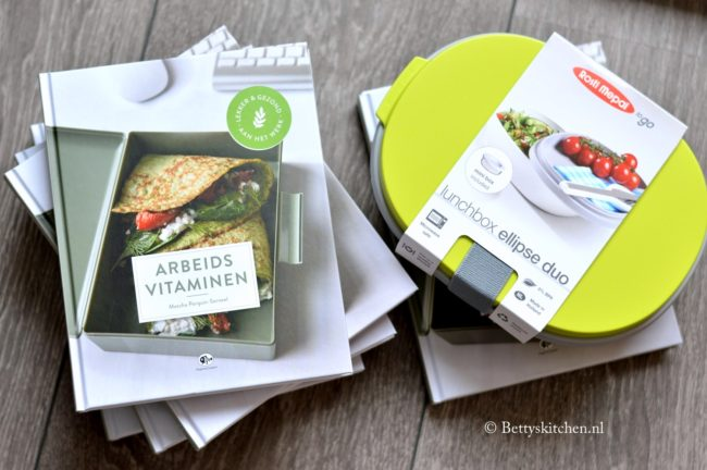 arbeidsvitaminen kookboek + rosti mepal duo ellipse lunchbox winactie bettyskitchen
