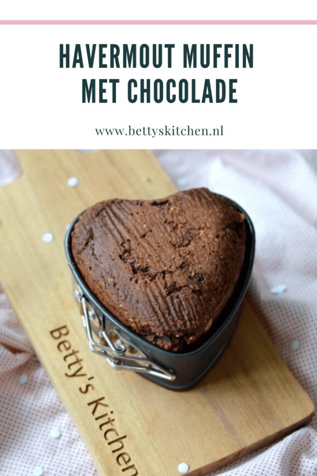 recept havermout muffin met chocolade glutenvrij ontbijt recept © bettyskitchen