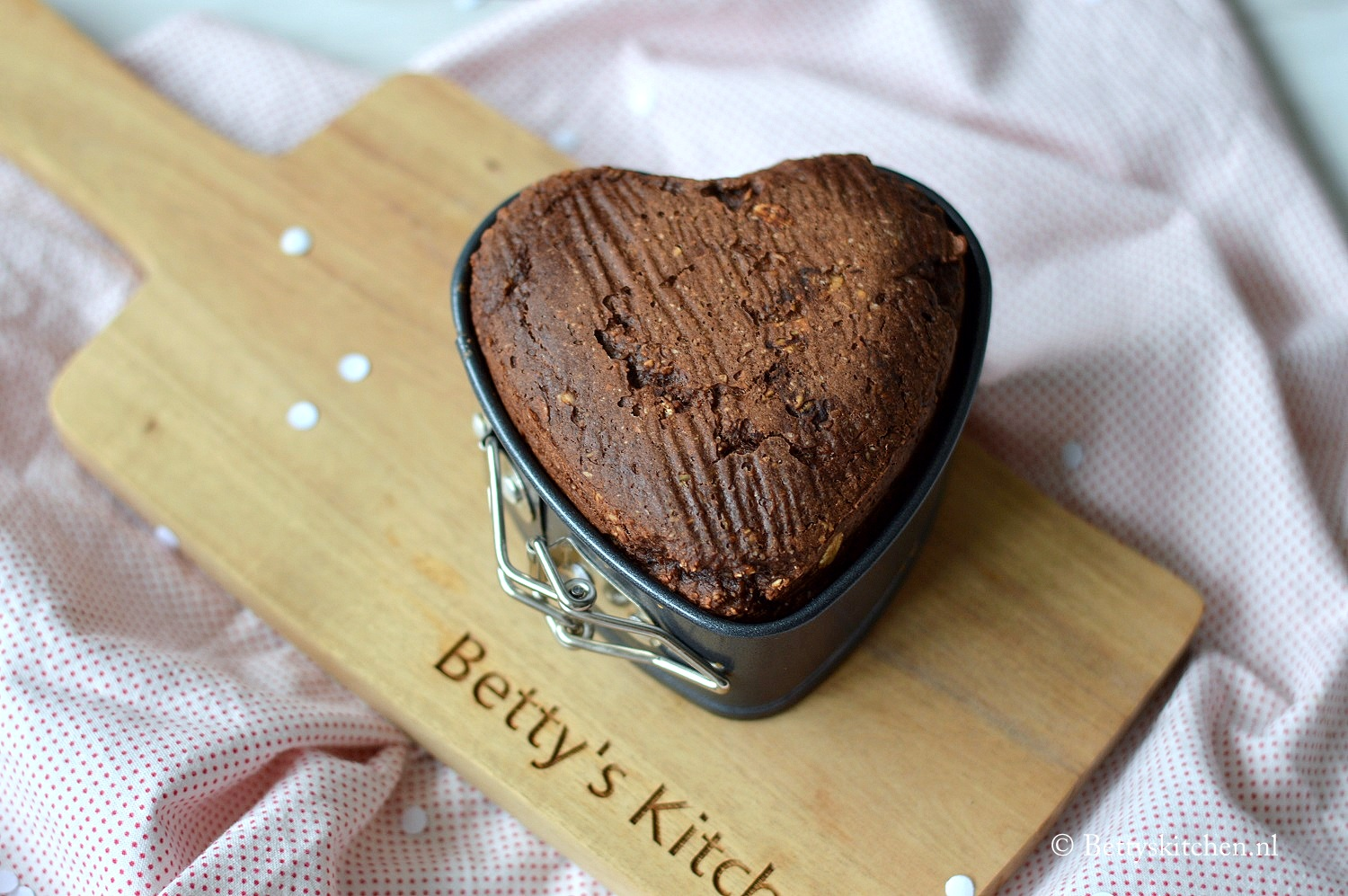 Havermout muffin met chocolade