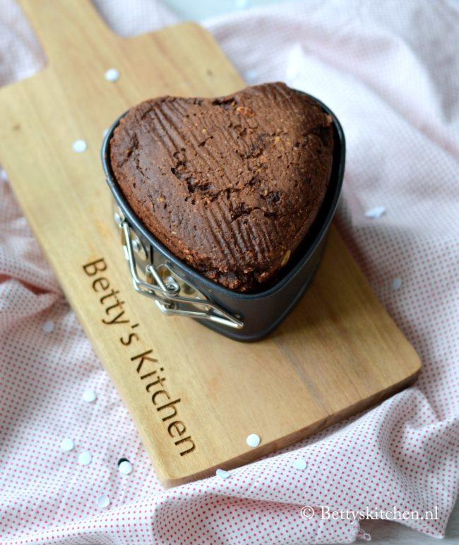 15x Recepten voor Valentijnsdag - suikervrije havermout muffin met chocolade en banaan glutenvrij recept