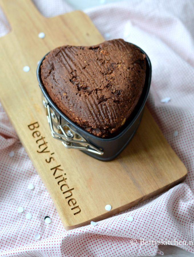 suikervrije havermout muffin met chocolade en banaan glutenvrij recept