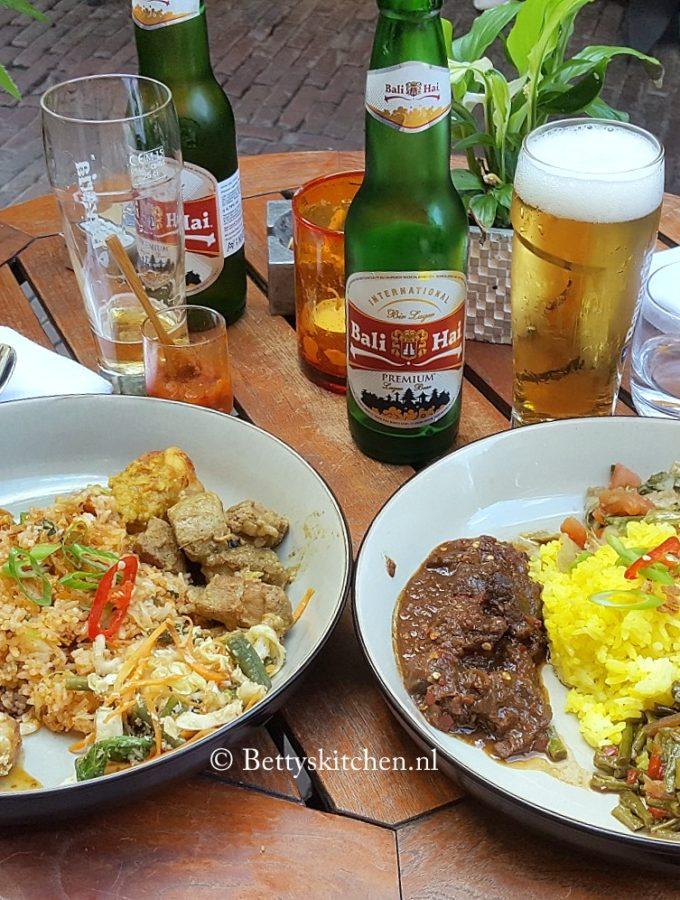 indisch restaurant spekuk in utrecht drieharingstraat restaurant review bettys kitchen foodblog