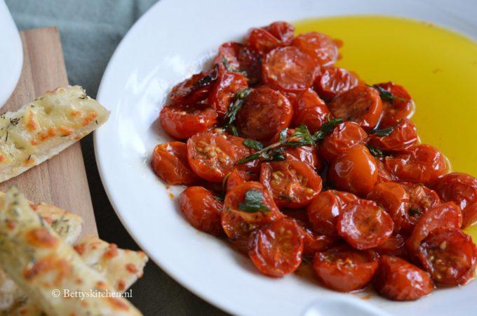 Geroosterde tomaten uit de oven