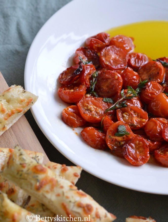 geroosterde tomaten uit de oven maken
