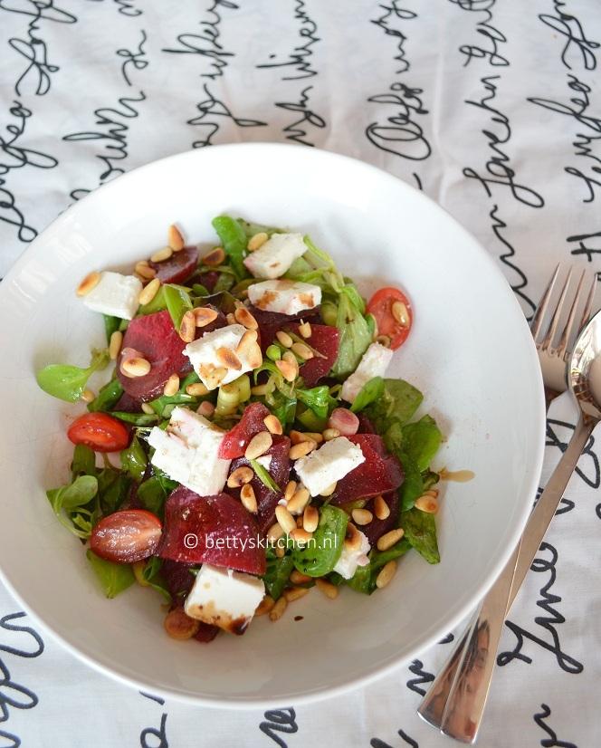 detox dagboek 2 rode bietjes salade met feta