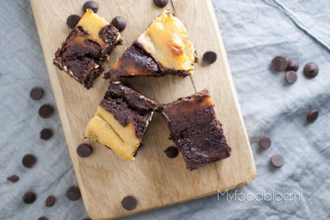 pumpkin pie brownies myfoodblog halloween
