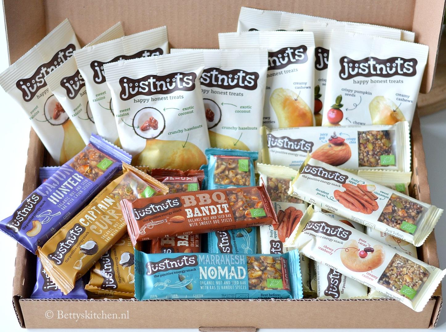 WIN:  een bomvol pakket met 45 JustNuts snacks!
