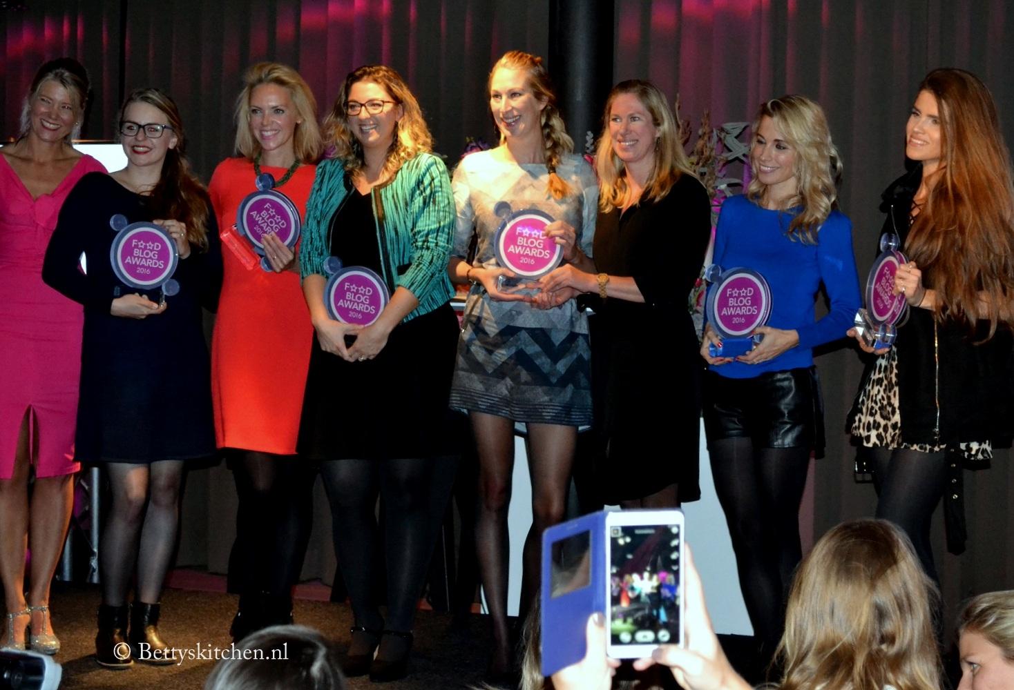 Winnaars Food Blog Awards 2016