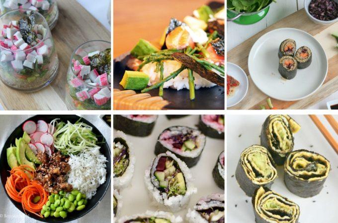 10x Sushi recepten, maar dan net even wat anders…