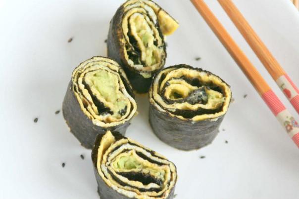 10x Sushi recepten, maar dan net even wat anders...