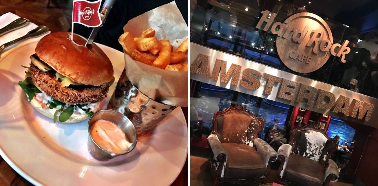 Tijdelijk vegetarisch menu in het Hard Rock Cafe!